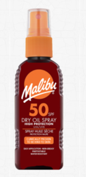 Malibu - Dry Oil Spray (SPF50) - 100ml