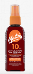 Malibu - Dry Oil Spray (SPF10) - 100ml