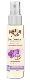 Hawaiian Tropic - Duo Defence Refrest Mist (SPF15) - 100 ml - UUTUUS!