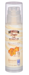 Hawaiian Tropic - Silk Hydration Air Soft Aurinkovoide pumppupullo (SPF15) - 150ml