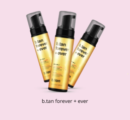 b.tan - forever + ever mousse - itseruskettava vaahto - 200ml