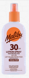 Malibu - Aurinkovoide Spray (SPF30) -100ml