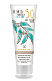 Australian Gold - Botanical Tinted Face Mineral Lotion – Medium to Tan (SPF50) - 88ml
