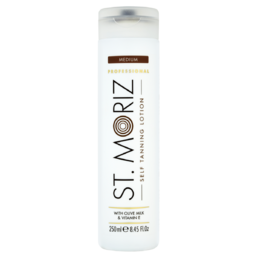 St. Moriz - Self Tanning Lotion - Medium - Itseruskettava voide - 250ml